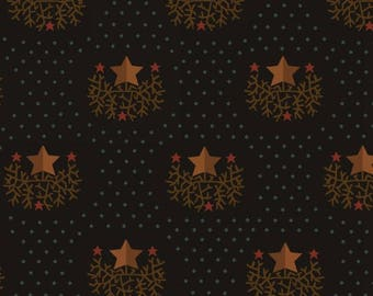 Star on Branches Black - Helping Hands by Kim Diehl