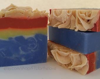 Wonder Woman Inspired Superhero Soap