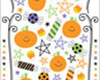 Trick or Treat Rub-Ons #1571 by Doodlebug