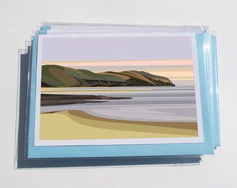 Pack of 6 North Wales Cards - W.2