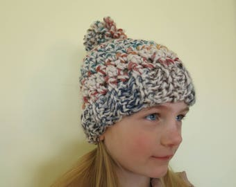 Kid's Beanie with Pom Pom