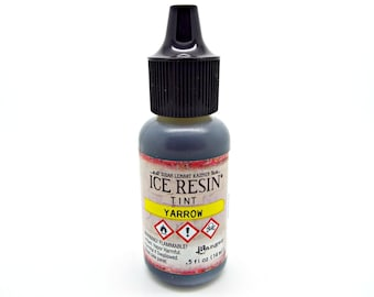 Ice Resin Tint, Yarrow Tint, Resin Dye, Yellow Resin Color, Yellow Yarrow, Resin Jewelry, Ranger Ice Resin, Susan Lenart Kazmer, UK Shop
