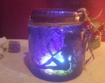 Flower Fairy Mystic Jar