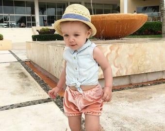 Velvet shorts Spring colors, baby girl shorts, baby girl summer, velvet shorts, kids velvet, pink velvet