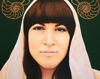 True Beauty - Alisha Gauvreau  -  By Toronto Portrait Artist Malinda Prud'homme