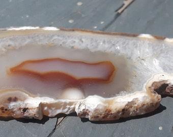 Polished Agate Slab