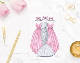 Be my bridesmaid cards set, Bridal shower card, Bridesmaid proposal card set, Wedding greeting card, Wedding shower greeting cards