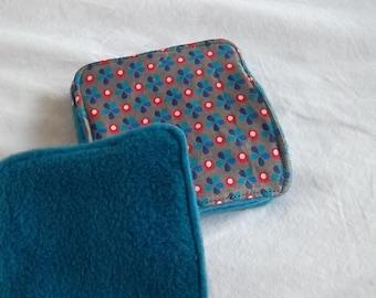 Washable cotton and fleece cloth
