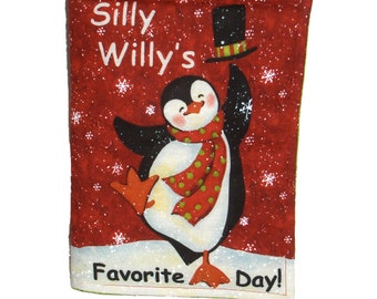 CLOTH / SOFT BOOK - Silly Willy's Christmas