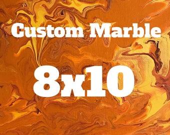 Custom 8x10 Marble