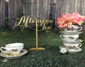 Tea Party Decoration, Baby Shower Tea Party, Alice In Wonderland Decor, Tea  Party
