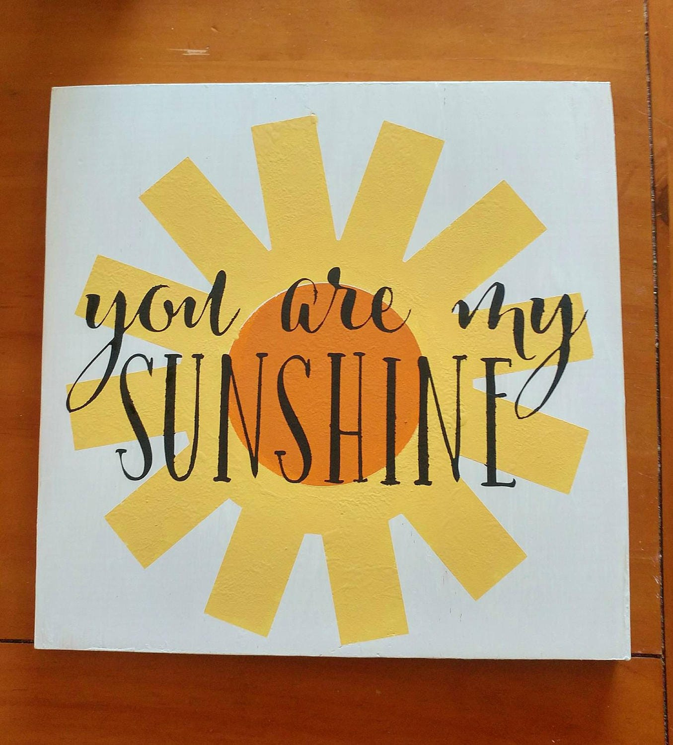 You are my Sunshine home wall decor, childrens room, baby nursery ...