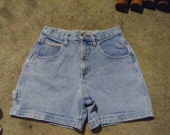Vintage Mom Shorts. 1980's- No Excuses Genuine Jeanswear- denim- jean shorts- Mom Shorts