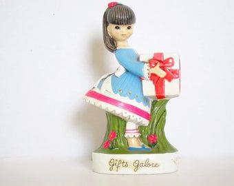 Earl Bernard Mod Girl Bank Gifts Galore Chalkware Japan