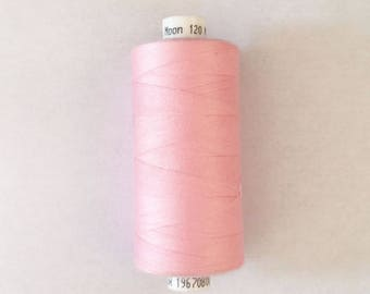 Moon 915 meters polyester sewing thread: pink - 2573