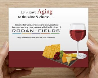 BBL invitation #200 (Rodan and Fields) INSTANT DOWNLOAD