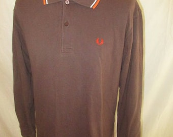 Polo vintage Fred Perry Brown size 42 to-61%