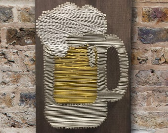 Beer Mug String Art Kit