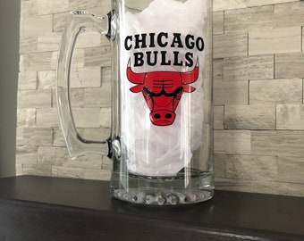Chicag Bulls Beer mug