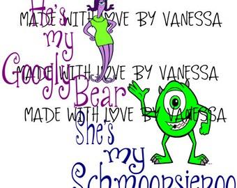 Monster inc Love