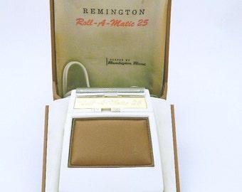 Remington Rand Roll A Matic 25 Triple Head Shaver