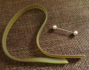 Tape and stick for making bracelet - matte khaki