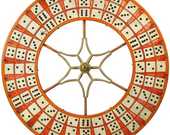 Dominoes Wheel Carnival Game Wall Decal #49414