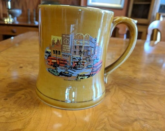 1950s Wade Piccadilly Circus London Beer Mug