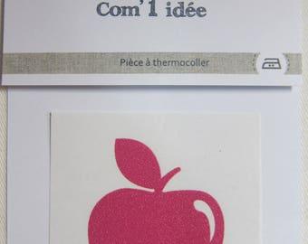 applied Flex fusible Apple Rose