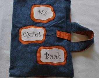 Fabric Quiet Book
