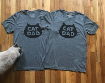Matching Cat Dad Tee Deal for the Purrrfect Couple