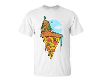 Pizza Cliff Jumping Shirt