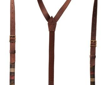Leather braces, Unique suspenders, rustic suspenders, casual suspenders, gentelman belt, wedding suspenders, leather suspenders,