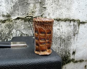 Die Original-Slider - Leather Guitar Slide Holder