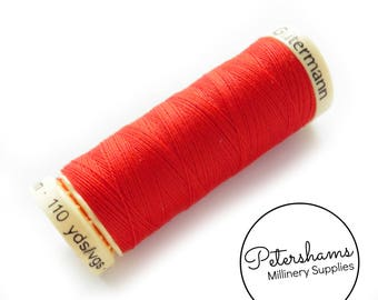 Gutermann Sew-All Polyester Thread Spool 100m (110 yards) - Red #491