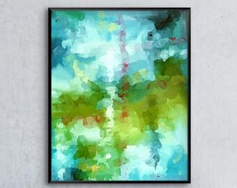 Abstract Watercolor, Abstract Art Print, Watercolor Wall Art, 12x16, 16x20, 18x24, 24x32, Gallery Wall, Abstract Wall Art, Watercolor Art