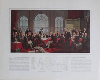 The Fathers of Confederation Print *Laminated*