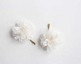 Flower Girl Hair Grips, Children's Hair Accessories for Weddings, Little Girl Hairpieces,  Silk Flower Hair pins