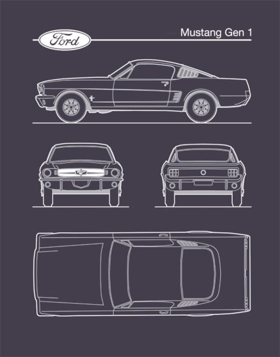 Auto art patent print ford mustang gen 1 blueprint ford auto art patent print ford mustang gen 1 blueprint ford mustang poster ford mustang art ford mustang decor p472 malvernweather Image collections