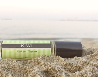 Mother's Day Gift // KIWI || Roll on Perfume || Birthday Gift for Her || Long lasting perfume || vegan perfume