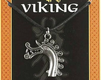Viking Dragon head pendant