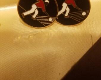 Swank Bowling sportsman cufflinks