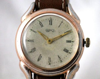 URAL Extremle RARE Big SERViCED watch 16 Jewels CHELJABINSK watch Factory 1957 year made in Ussr