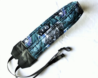 Black Panther dSLR Camera Strap! This is a full strap not a cover! Standard Size