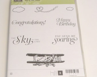 "Stampin' Up ""Sky is the Limit"" Stamp Set"