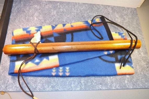 flute bag or pipe bag or drum stick bag native american. Black Bedroom Furniture Sets. Home Design Ideas