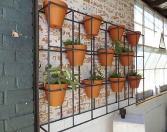 Handmade vertical garden