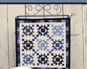 """QUILTING FUN (Quilt Pattern) - """"JANUARY"""" - Make It Mini - Design by This & That"""