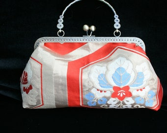 Silk Brocade Evening Bag or Clutch