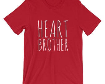 Heart Brother // Adult Unisex T-Shirt // CHD Awareness